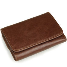 Men's Vertical Wax Leather Wallet
